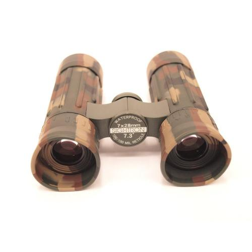SIGHTRON 双眼鏡 ダハプリズム 7倍28mm口径 ミリタリー 100/100レティクル 日本製 TAC-36M SIB63-0445