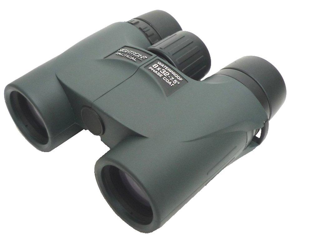 SIGHTRON 双眼鏡 ダハプリズム 8倍32mm口径 ミリタリー 100/100レティクル 日本製 TAC-MS832