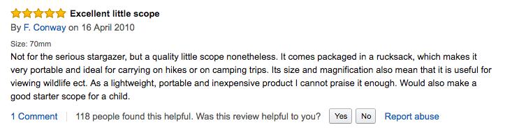 トラベルスコープ travel scope 評価
