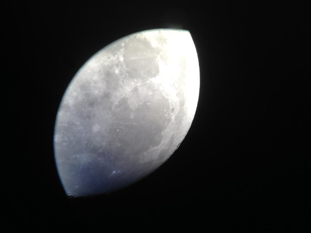 セレストロン スカイマスター 月撮影