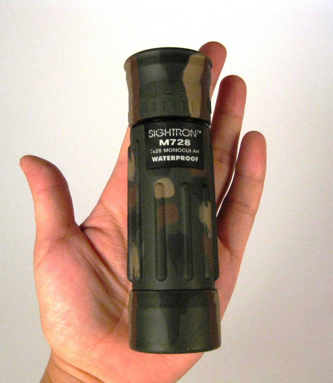 防災におすすめ単眼鏡・サイトロン携帯軍用ミル入単眼鏡[TAC-M728]
