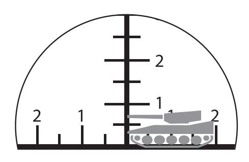 双眼鏡のミルスケールの計算方法