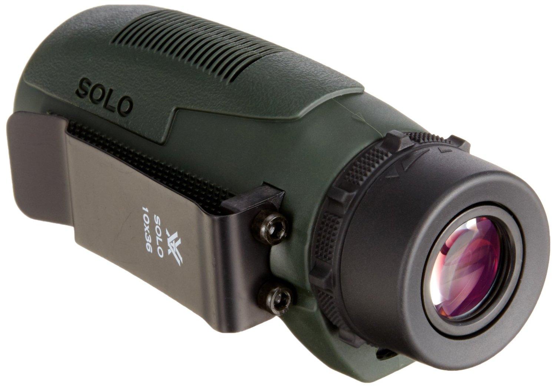クリップ付きベルトに挟めるVORTEX 単眼鏡 Solo 10x36 評価と性能
