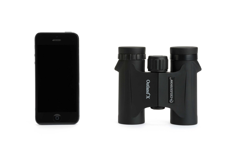 CELESTRON 双眼鏡 ダハプリズム 8倍25mm口径 Outland X 8×25 CE71340 アイピース