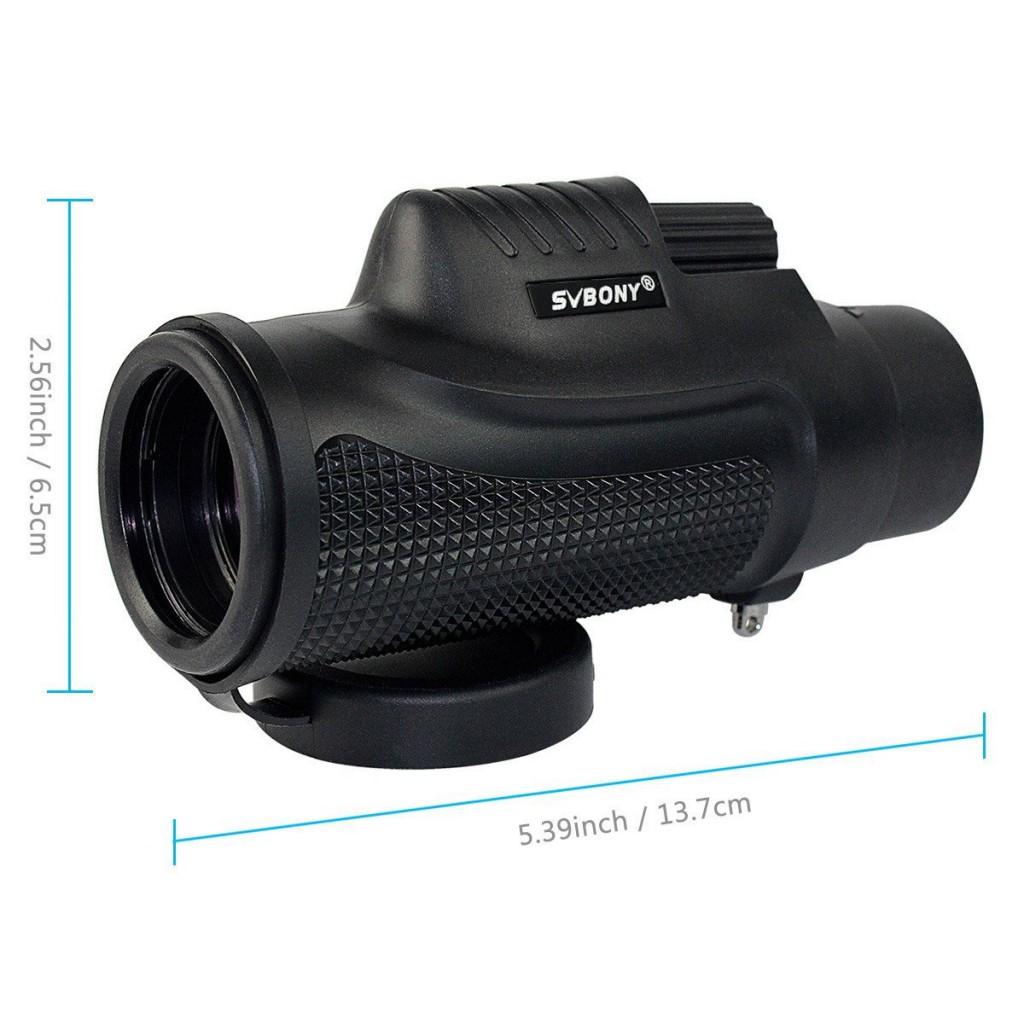 防災におすすめSVBONY 単眼鏡BK7 ( 8x32) 防水 ・防湿・防塵・防霧なのにコンパクト